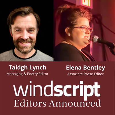 Windscript Vol. 37 - Editors Announced